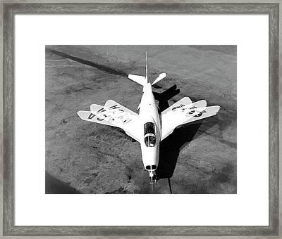 Bell X-5 Experimental Aircraft Framed Print by Nasa Photo / Naca/nasa