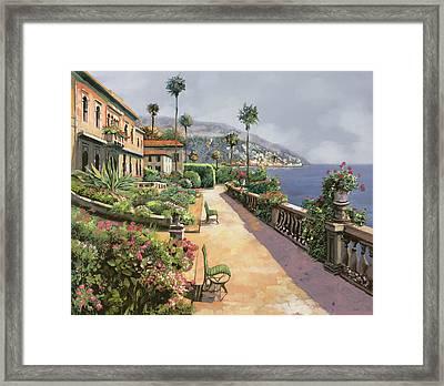 Bella Amalfi Framed Print by Guido Borelli
