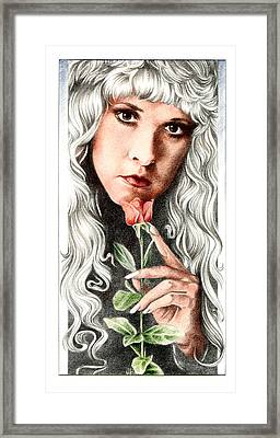 Bella Donna Framed Print by Johanna Pieterman