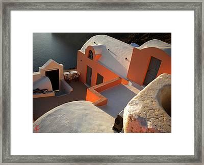 Bella Santorini Hause Framed Print by Colette V Hera  Guggenheim