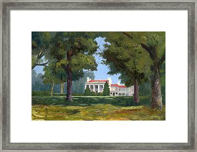 Belle Meade Mansion Nashville Tennessee Framed Print by Tommy Thompson