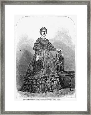 Belle Reynolds (1840-?) Framed Print by Granger