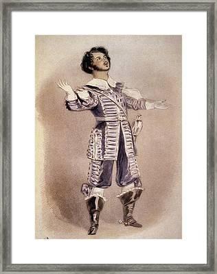 Bellini Arturo Framed Print by Granger