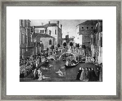 Bellini Miracle, C1500 Framed Print by Granger