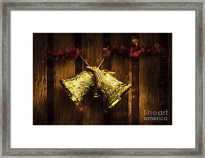 Bells Of Christmas Joy Framed Print by Jorgo Photography - Wall Art Gallery