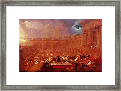 Belshazzars Feast, 1820 Framed Print by John Martin