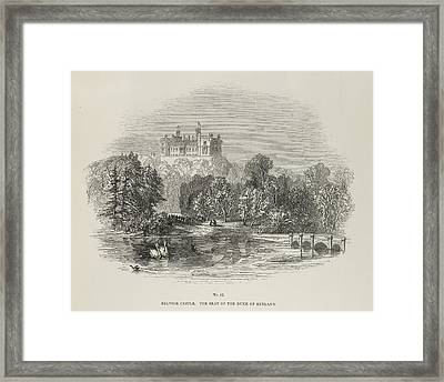 Belvoir Castle Framed Print by British Library