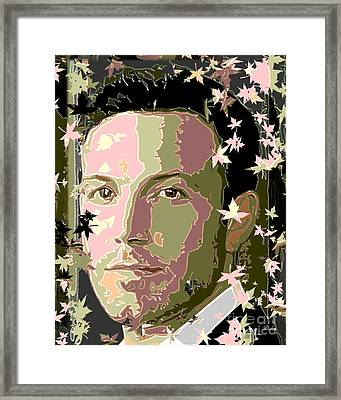Ben Affleck Framed Print by Dalon Ryan