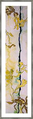 Ben And Jewel Panel I Framed Print by Sandra Gail Teichmann-Hillesheim