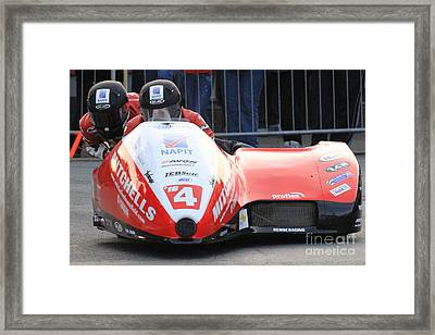 Ben And Tom Birchall Framed Print by Richard Norton Church