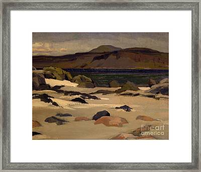 Ben More From Cows Rock Framed Print by Francis Campbell Boileau Cadell