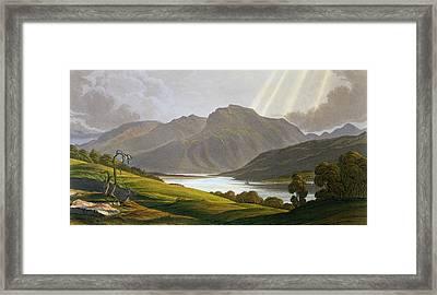 Ben Nevis Framed Print by George Fennel Robson