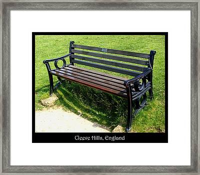 Bench #18 Framed Print by Roberto Alamino