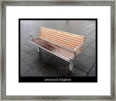 Bench #23 Framed Print by Roberto Alamino