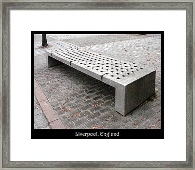 Bench #24 Framed Print by Roberto Alamino
