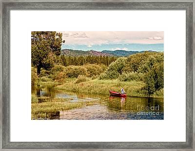 Bend/sunriver Thousand Trails Framed Print by Bob and Nadine Johnston