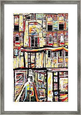 Beneath The Basement Framed Print by Ruth Clotworthy