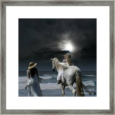 Beneath The Illusion In Colour Framed Print by Sharon Mau