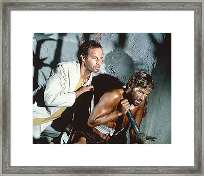 Beneath The Planet Of The Apes  Framed Print by Silver Screen