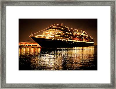 Beneath The Stars Framed Print by Karen Wiles