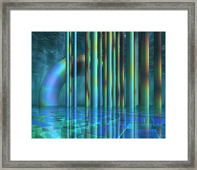 Beneath The Surface Framed Print by Judi Suni Hall