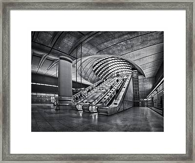 Beneath The Surface Of Reality Framed Print by Evelina Kremsdorf