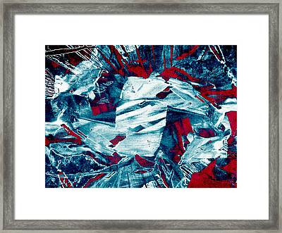 Beneath The Surface  Framed Print by Shawna Rowe