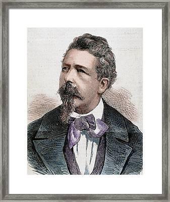 Benedetto Cairoli (pavia Framed Print by Prisma Archivo