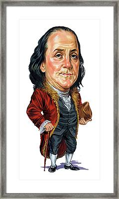 Benjamin Franklin Framed Print by Art