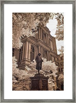 Benjamin Franklin Framed Print by Joann Vitali