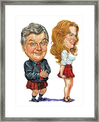 Benny Hill Framed Print by Art