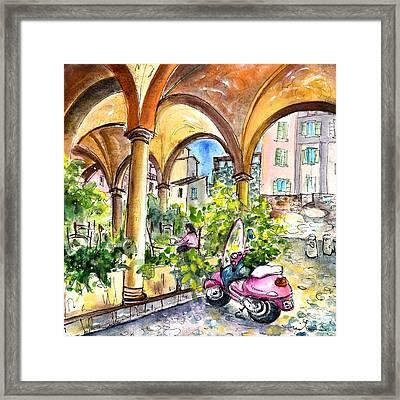 Bergamo Upper Town 02 Framed Print by Miki De Goodaboom