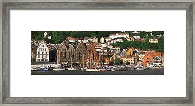Bergen Norway Framed Print by Panoramic Images