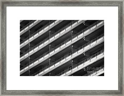 Berlin Balconies Framed Print by Rod McLean