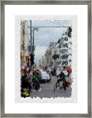 Berlin Checkpoint Charlie Framed Print by Stefan Kuhn