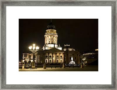 Berlin Gendarmenmarkt Framed Print by Frank Tschakert