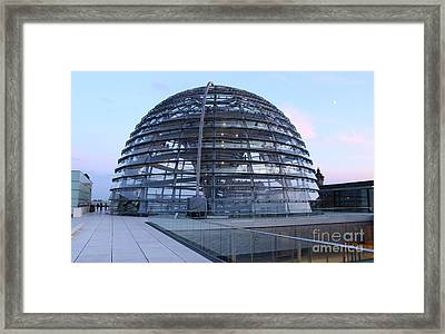 Berlin - Reichstag Roof - No.03 Framed Print by Gregory Dyer