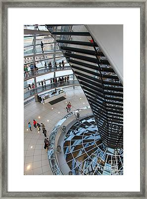 Berlin - Reichstag Roof - No.06 Framed Print by Gregory Dyer