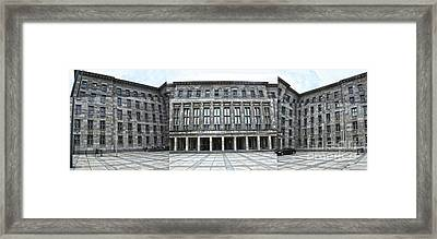 Berlin - Ss Headquarters Framed Print by Gregory Dyer