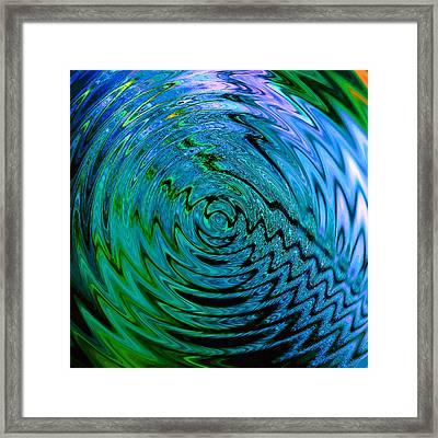 Bermuda Blue Framed Print by Michael Durst