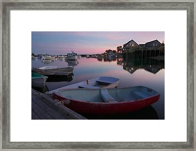 Bernard Harbor Framed Print by Darylann Leonard Photography