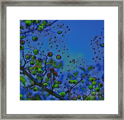 Berry Sky Magic By Jrr Framed Print by First Star Art