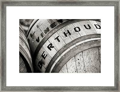 Berthoud Colorado Winery 2 Framed Print by Marilyn Hunt