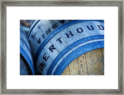 Berthoud Colorado Winery Framed Print by Marilyn Hunt