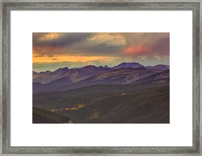 Berthoud Pass Framed Print by Jennifer Grover