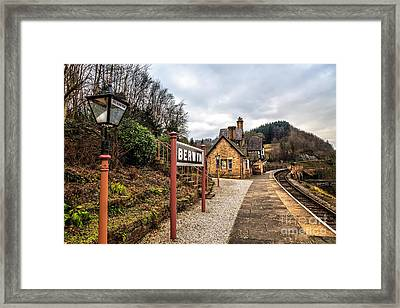 Berwyn Station Framed Print by Adrian Evans