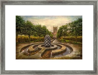Beside Still Waters Framed Print by Adrian Evans