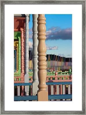 Beside The Seaside Framed Print by Martin Newman