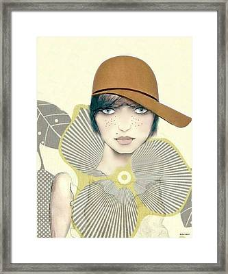 Bess Framed Print by Barbie Guitard