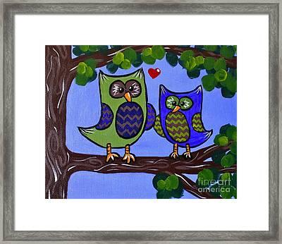 Best Buddies Framed Print by Kimberly Wix